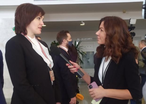 Депутат Палаты представителей Национального собрания Республики Беларусь Елена Потапова принимает участие в VI Всебелорусском народном собрании